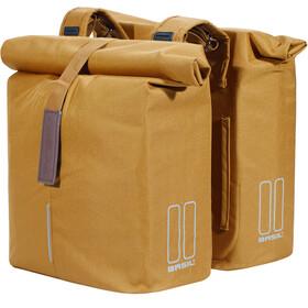 Basil City Double Pannier Bag 28-32l, camel brown